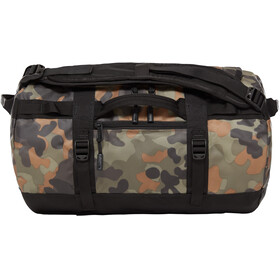 The North Face Base Camp Duffel XS, new taupe green macrofleck camo print/tnf black
